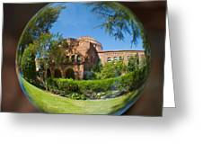 Kendal Hall Chico State University Greeting Card