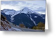 Kendall Mountain Morning Greeting Card