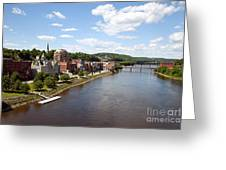 Kennebec River Greeting Card