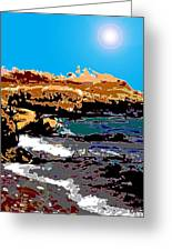Kennebunkport Beach Greeting Card