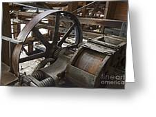 Kennecott Copper Mill Greeting Card