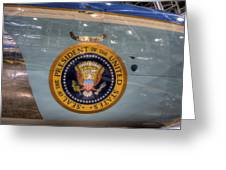 Kennedy Air Force One Greeting Card
