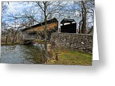 Kennedy Covered Bridge - Chester County Pa Greeting Card