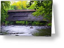 Kennedy Covered Bridge - Kimberton Pa. Greeting Card