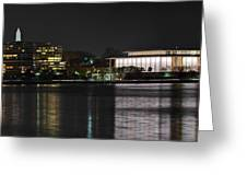 Kennery Center For The Performing Arts - Washington Dc - 01131 Greeting Card