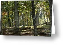 Kennesaw Battlefield Mountain Greeting Card