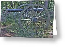 Kennesaw Cannon 4 Greeting Card