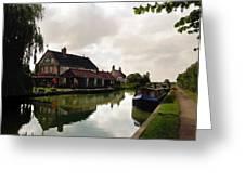 Kennett Amd Avon Canal Uk Greeting Card