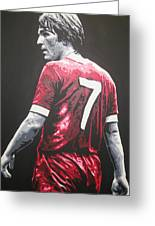 Kenny Dalglish - Liverpool Fc 2 Greeting Card