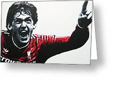 Kenny Dalglish - Liverpool Fc Greeting Card