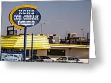 Ken's Ice Cream Sandwiches Greeting Card