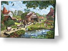 Kentish Farmer Greeting Card