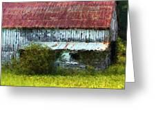 Kentucky Barn In Summer Greeting Card