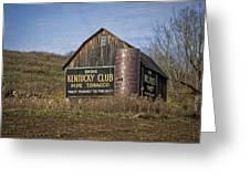 Kentucky Club Barn Greeting Card