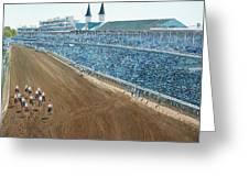 Kentucky Derby - Horse Race Greeting Card