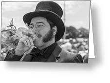 Kentucky Derby Infield Cigar Greeting Card