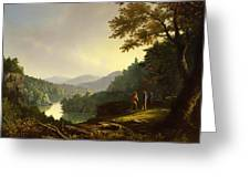 Kentucky Landscape 1832 Greeting Card