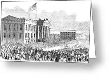 Kentucky Louisville, 1861 Greeting Card