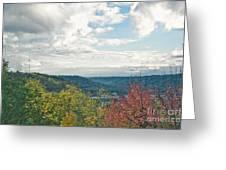 Kentucky Mountains In Autumn Greeting Card