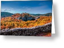 Kentucky - Natural Arch Scenic Area Greeting Card