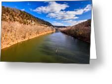 Kentucky River Palisades Greeting Card