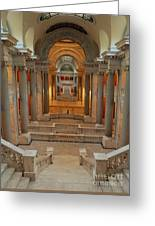 Kentucky State Capital Building Greeting Card