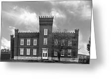 Kentucky State University Jackson Hall Greeting Card by University Icons