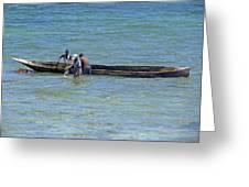 Kenyan Fishermen Greeting Card