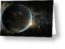 Kepler-62f Greeting Card