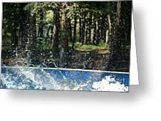 Ker Splash  Greeting Card