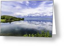 Kerkini Lake View. Greeting Card