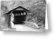Herns Mill Bridge Greeting Card