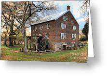 Kerr Grist Mill Greeting Card