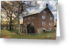 Kerr Grist Mill At Sloan Park Greeting Card