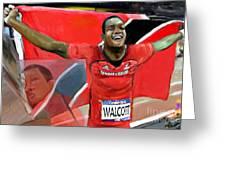 Keshorn Walcott Greeting Card