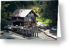 Ketchikan Buildings With Character 2 Greeting Card