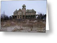 Kettle Point Manor Greeting Card by Tom Straub