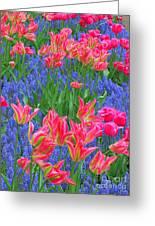 Keukenhof Gardens 5 Greeting Card