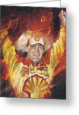 Kevin Harvick Greeting Card