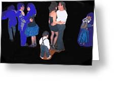 Kevin Howard's Wedding Dancers Tucson Arizona 1990-2012 Greeting Card