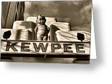 Kewpee Restaurant Greeting Card