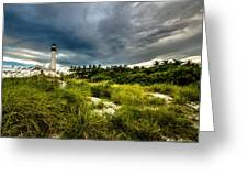 Key Biscayne Sunset Greeting Card