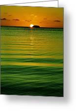 Key Largo Sundown Greeting Card