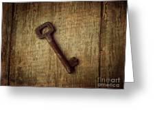 Key To My Secret Greeting Card by Lorraine Heath