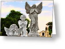 Key West Angels Greeting Card