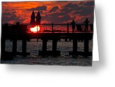 Key West Florida Sunrise Greeting Card