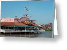 Key West Grill Greeting Card