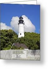 Key West Lighthouse Greeting Card