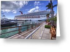 Key West Paradise Greeting Card