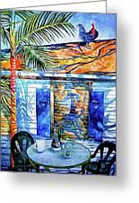 Key West Still Life Greeting Card